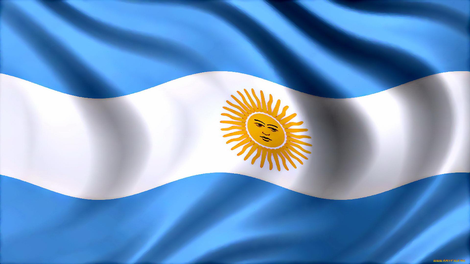 флаг argentina фото